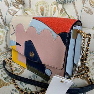 New!! Tory Burch Robinson Colorful Crossbody Bag!